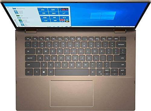 2021 Latest Dell Inspiron 14 7000 2 in 1 Business Laptop,FHD Touch Screen, Ryzen 5 4500U(Beat i7-8550U) 16G RAM,1TB NVME SSD,Microphone,Backlit Keyboard, Fingerprint Reader,Win10 Pro 4