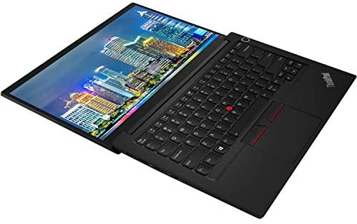 Lenovo ThinkPad E14 Gen 2-are 20T6002LUS 14 inch Notebook PC Bundle with Ryzen 5 4500U, 8GB DDR4, 256GB SSD, Radeon Graphics, Webcam, Stereo Speakers, Microphone, Windows 10 Pro, and Laptop Bag 3