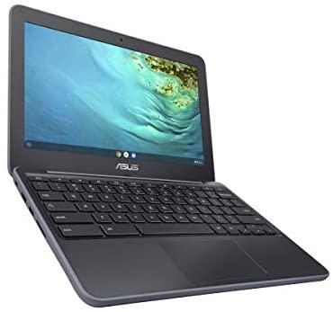 2021 Newest Asus Chromebook 11.6 Inch Laptop, MediaTek MT8173C 2.1GHz, 4GB RAM, 32GB eMMC, WiFi, Bluetooth, Webcam, Chrome OS + NexiGo 32GB MicroSD Card Bundle 3