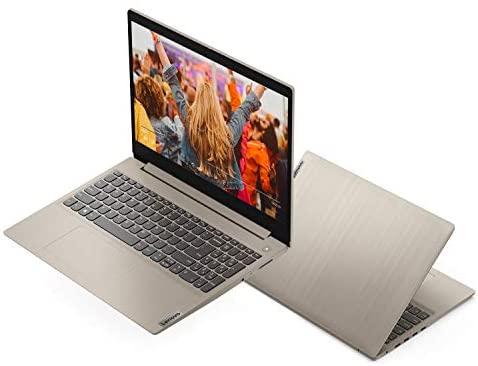 "2021 Lenovo IdeaPad 3 15.6"" HD Laptop Intel Dual-Core i3-1005G1 8GB RAM DDR4 256GB M.2 SSD Intel UHD Graphics HDMI Card Reader Bluetooth Webcam Almond Windows 10 Pro w/ RE 32GB USB 3.0 Drive 3"