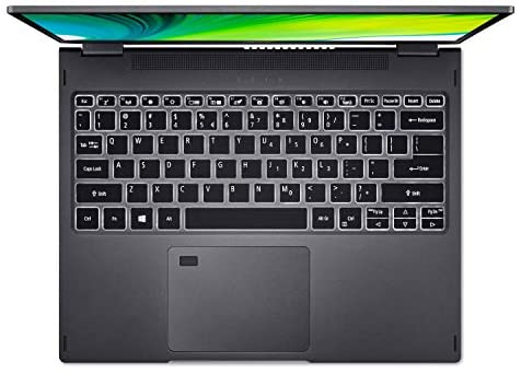 """Acer Spin 5 Convertible Laptop, 13.5"""" 2K 2256 x 1504 IPS Touch, 10th Gen Intel Core i7-1065G7, 16GB LPDDR4X, 512GB NVMe SSD, Wi-Fi 6, Backlit KB, FPR, Rechargeable Active Stylus, SP513-54N-74V2 13"""