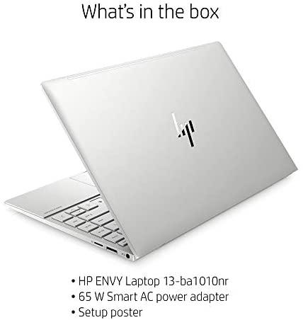 HP Envy 13 Laptop computer, Intel Core i7-1165G7, 8 GB DDR4 RAM, 256 GB SSD Storage, 13.3-inch FHD Touchscreen Show, Home windows 10 House with Fingerprint Reader, Digicam Kill Swap (13-ba1010nr, 2020 Mannequin) 8