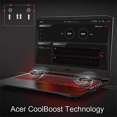 "Acer Nitro 5 Gaming Laptop, 10th Gen Intel Core i5-10300H,NVIDIA GeForce GTX 1650 Ti, 15.6"" Full HD IPS 144Hz Display, 8GB DDR4,256GB NVMe SSD,WiFi 6, DTS X Ultra,Backlit Keyboard,AN515-55-59KS 5"
