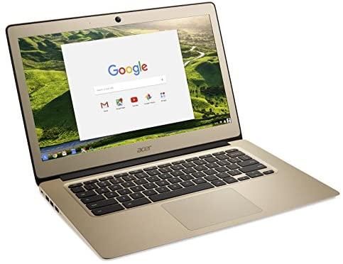 Acer Chromebook 14, Aluminum, 14-inch Full HD, Intel Celeron N3160, 4GB LPDDR3, 32GB, Chrome, Gold, CB3-431-C0AK 5
