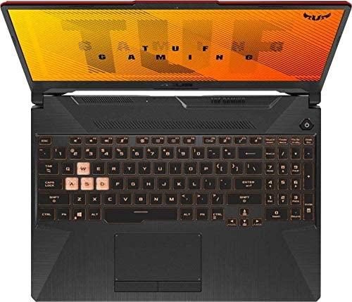 """2021 ASUS TUF 15.6"""" FHD Premium Gaming Laptop, 10th Gen Intel Quad-Core i5-10300H, 16GB RAM, 1TB SSD, GeForce GTX 1650Ti 4GB GDDR6, RGB Backlit Keyboard, Win10 Home+Oydisen Cloth 2"""