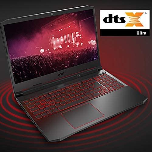 "Acer Nitro 5 Gaming Laptop, 10th Gen Intel Core i5-10300H,NVIDIA GeForce GTX 1650 Ti, 15.6"" Full HD IPS 144Hz Display, 8GB DDR4,256GB NVMe SSD,WiFi 6, DTS X Ultra,Backlit Keyboard,AN515-55-59KS 7"