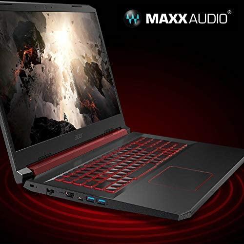 "Acer Nitro 5 Gaming Laptop, 9th Gen Intel Core i5-9300H, NVIDIA GeForce GTX 1650, 15.6"" Full HD IPS Display, 8GB DDR4, 256GB NVMe SSD, Wi-Fi 6, Backlit Keyboard, Alexa Built-in, AN515-54-5812 8"