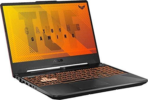 """2021 ASUS TUF 15.6"""" FHD Premium Gaming Laptop, 10th Gen Intel Quad-Core i5-10300H, 16GB RAM, 1TB SSD, GeForce GTX 1650Ti 4GB GDDR6, RGB Backlit Keyboard, Win10 Home+Oydisen Cloth 4"""