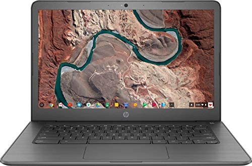 """2021 HP Premium Chromebook 14"""" HD Touchscreen Laptop, Intel Celeron N3350 Dual-core (up to 2.4GHz), 4GB RAM, 32GB eMMC, 10+ Hours Battery, HD Webcam, USB-A&C, Chrome OS, WiFi w/Marxsol Cables 2"""
