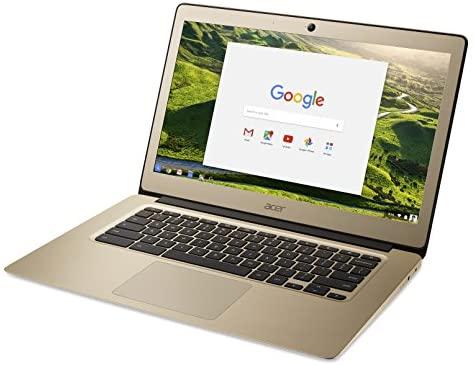 Acer Chromebook 14, Aluminum, 14-inch Full HD, Intel Celeron N3160, 4GB LPDDR3, 32GB, Chrome, Gold, CB3-431-C0AK 4