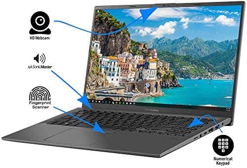 "2021 Flagship ASUS VivoBook 15 Thin and Light Laptop 15.6"" FHD Touchscreen Display 10th Gen Intel Core i3-1005G1 (Beat i5-8250U) 12GB RAM 256GB SSD Backlit Fingerprint Webcam Win 10 + iCarp HDMI Cable 3"