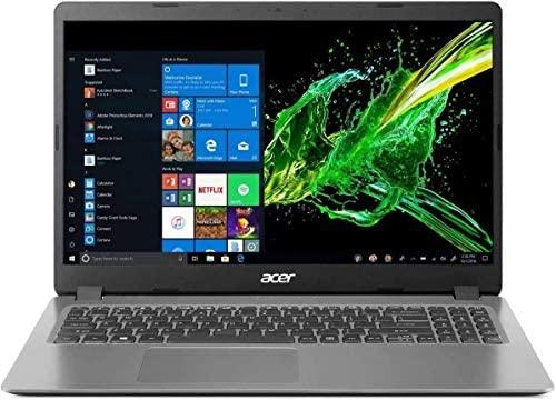 """Newest Acer Aspire 3 15.6"""" FHD 1080P Laptop Computer, 10th Gen Intel Quad-Core i5 1035G1 (Beats i7-7500u), 12GB DDR4 RAM, 256GB SSD+500GB HDD, Webcam, HDMI, WiFi, Bluetooth, Windows 10, AllyFlex MP 3"""