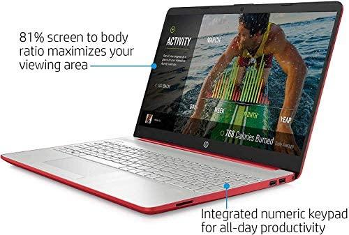 HP 2020 15.6 inches HD LED Display, Intel Pentium Gold 6405U, 4GB DDR4 RAM 500GB HDD, Windows 10 - Scarlet Red (Renewed) 3