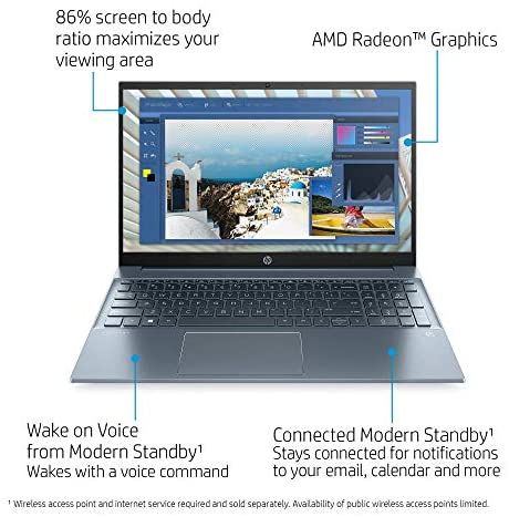 "HP Pavilion 15 Touchscreen Laptop, 15.6"" FHD IPS 1080p, Intel Core i7-1165G7 4-Core up to 4.70GHz, 16GB RAM, 512GB SSD, Backlit KB, KeyPad, Mytrix Ethernet Hub, Win 10 (Renewed) 3"