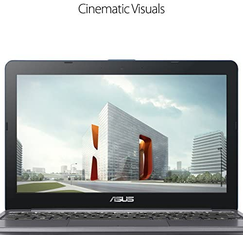 """ASUS L203MA-DS04 VivoBook L203MA Laptop, 11.6"""" HD Display, Intel Celeron Dual Core CPU, 4GB RAM, 64GB Storage, USB-C, Windows 10 Home In S Mode, Up To 10 Hours Battery Life, One Year Of Microsoft 365 7"""