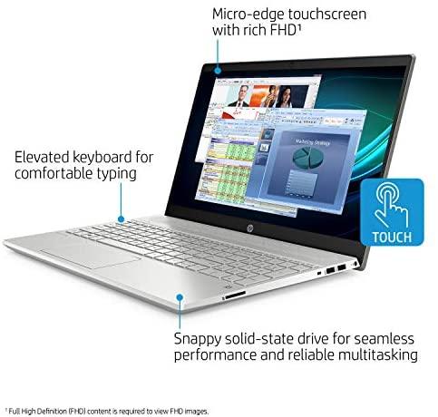 HP Pavilion 15-CS Intel i5-1035G1 12GB 512GB SSD 15.6-Inch Full HD WLED Touch Screen Laptop 5