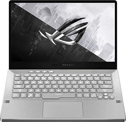 "ASUS ROG Zephyrus G14 14"" VR Ready 120Hz FHD Gaming Laptop,8Core AMD Ryzen 9 4900HS(Beat i7-10750H),16GB RAM,1TB PCIe SSD,Backlight,Wi-Fi 6,USB C,NVIDIA GeForce RTX2060 Max-Q,Win10 (Moonlight White) 6"