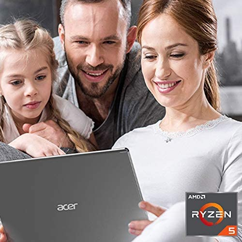 "Acer Aspire 5 Slim Laptop, 15.6"" Full HD IPS Display, AMD Ryzen 5 3500U, Vega 8 Graphics, 8GB DDR4, 256GB SSD, Backlit Keyboard, Windows 10 Home, A515-43-R5RE, Silver 2"