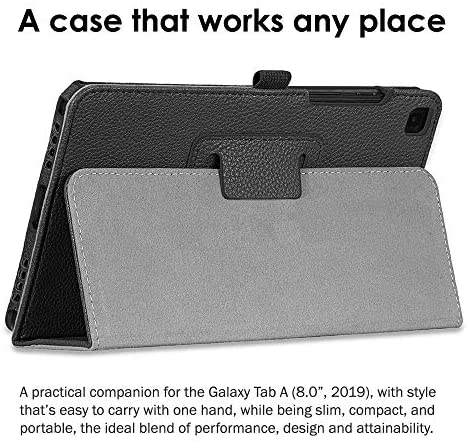 Samsung Galaxy T290 Tab A 8-Inch 32 GB WiFi Android 9.0 Touchscreen Pill Silver (2019) Worldwide Model Bundle - Case, Display Protector, Stylus, 32GB microSD Card & Cellular Offers Cleansing Fabric 3