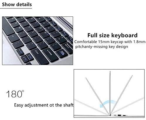 "2019 14"" Laptop - Intel Quad-Core Atom x5 E8000 Processor - 4GB Memory - 64GB Solid State Drive -2PCS 4500mAh Large Capacity Battery Endurance- Ash Silver Keyboard Frame 4"