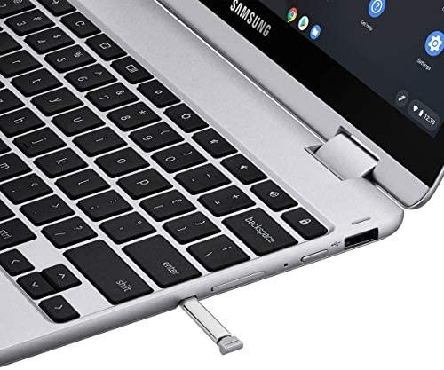 "Samsung Chromebook Plus 12.2"" FHD WUXGA Touchscreen 2-in-1 Laptop Computer, Intel Celeron 3965Y Processor, 4GB RAM, 64GB eMMC, 802.11AC WiFi, Chrome OS, Digital Pen, iPuzzle Type-C HUB + 128GB SD Card 5"