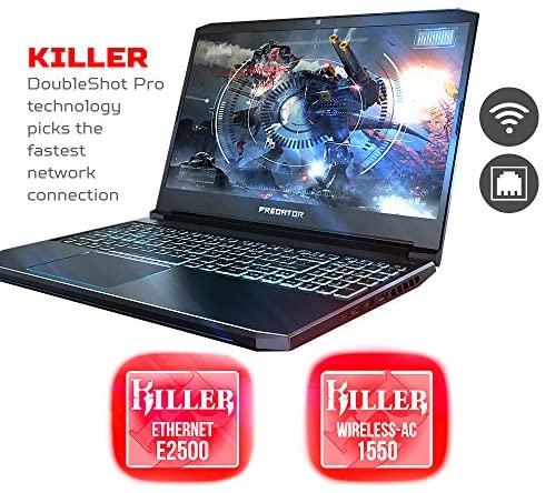 "Acer Predator Helios 300 Gaming Laptop PC, 15.6"" Full HD 144Hz 3ms IPS Display, Intel i7-9750H, GeForce GTX 1660 Ti 6GB, 16GB DDR4, 256GB NVMe SSD, Backlit Keyboard, PH315-52-78VL 4"