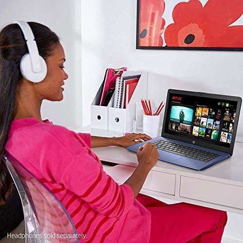 Newest HP Stream 14inch HD(1366x768) Intel Celeron N4000 Dual-Core, 4GB RAM, 64GB eMMC, HDMI, WiFi, Webcam, Bluetooth, Win10 S, Blue (Renewed) 6