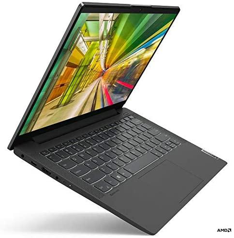"Lenovo IdeaPad 5 14.0"" FHD IPS 300nits Laptop, AMD Ryzen 5 4500U, Webcam, Backlit Keyboard, Fingerprint Reader, Wi-Fi 6, HDMI, USB-C, AMD Radeon Graphics, Windows 10 Home (16GB RAM   512GB PCIe SSD) 2"