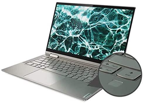 "2021 Newest Lenovo Yoga 2-in-1 Convertible Laptop, 14"" FHD Touch Screen, Intel Core i5-10210U Processor, 8GB RAM, 1TB SSD, Backlit Keyboard, Fingerprint Reader, USB-C, Mica, Win 10 + Oydisen Cloth 3"