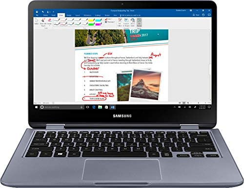 "Samsung 13.3"" FHD TouchScreen 2 in 1 Laptop Computer, 8th Gen Quad Core i5-8250U up to 3.4GHz, 8GB RAM, 512GB SSD, 802.11ac WiFi, Bluetooth 4.1, Type C, HDMI, Fingerprint, Backlit Keyboard, Windows 10 2"