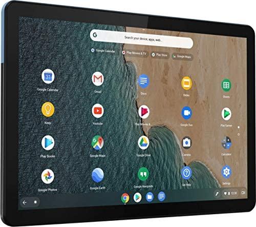 2021 Lenovo Chromebook Duet 10.1 Inch FHD 1200P Touchscreen 2-in-1 Laptop computer, 8-Core MediaTek Helio P60T, 4GB RAM, 128GB eMMC, Chrome OS + NexiGo 32GB MicroSD Card Bundle 8