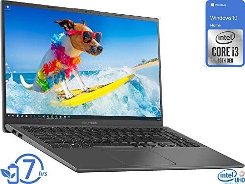"2021 Flagship ASUS VivoBook 15 Thin and Light Laptop 15.6"" FHD Touchscreen Display 10th Gen Intel Core i3-1005G1 (Beat i5-8250U) 12GB RAM 256GB SSD Backlit Fingerprint Webcam Win 10 + iCarp HDMI Cable 2"