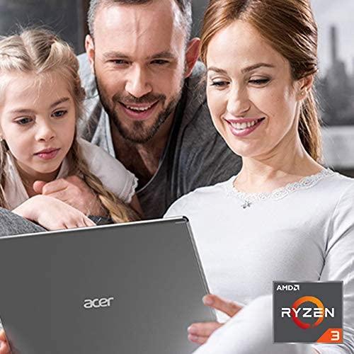 Acer Aspire 5 Slim Laptop, 15.6 inches Full HD IPS Display, AMD Ryzen 3 3200U, Vega 3 Graphics, 4GB DDR4, 128GB SSD, Backlit Keyboard, Windows 10 in S Mode, A515-43-R19L, Silver 2
