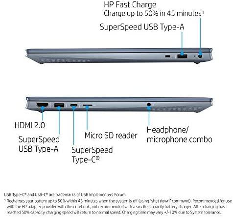 "HP Pavilion 15 Touchscreen Laptop, 15.6"" FHD IPS 1080p, Intel Core i7-1165G7 4-Core up to 4.70GHz, 16GB RAM, 512GB SSD, Backlit KB, KeyPad, Mytrix Ethernet Hub, Win 10 (Renewed) 5"