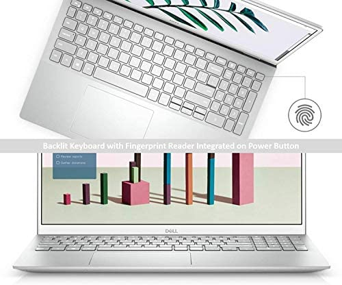 2020 Newest Dell Inspiron 15 5000 Premium Laptop: 15.6 Inch FHD Display10th Gen Intel i7 16GB RAM, 512GB SSD WiFi Bluetooth HDMI Backlit-KB FP- Reader Win10 Pro 32GB PCS USB Card 8