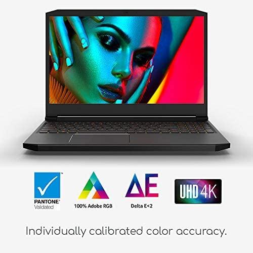 "Acer ConceptD 5 Pro CN515-71P-72PQ Creator Laptop, Intel i7-9750H, NVIDIA Quadro T1000, NVIDIA Studio, 15.6"" 4K Ultra HD IPS, 100% Adobe RGB, Pantone Validated, Delta E 2"