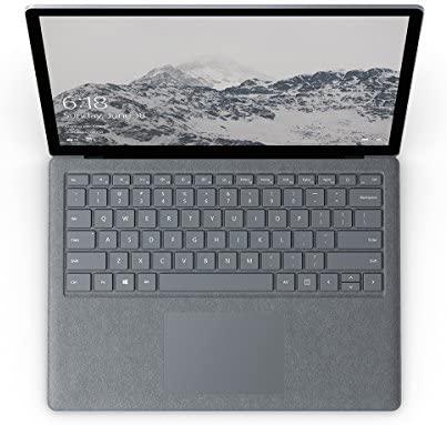 "Microsoft Surface Laptop (1st Gen) D9P-00001 Laptop (Windows 10 S, Intel Core i5, 13.5"" LED-Lit Screen, Storage: 128 GB, RAM: 4 GB) Platinum 3"