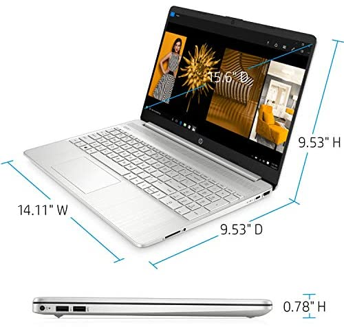 "2021 Newest HP Pavilion Laptop, 15.6"" HD Display, AMD Athlon Gold 3150U Processor Up to 3.3GHz, Webcam, HDMI, Compact Design, Long Battery Life, Win 10 + Oydisen Cloth (8GB RAM   256GB SSD) 4"