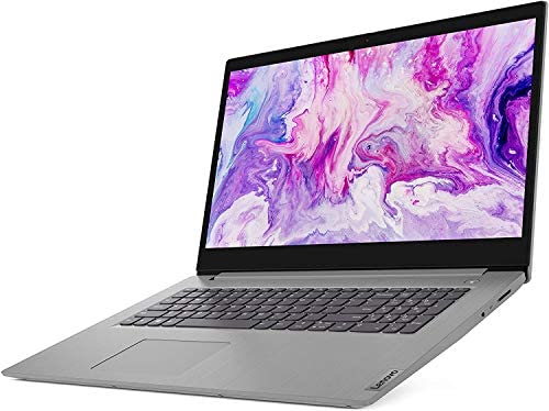 "Newest Lenovo Flagship Ideapad 3 17 Laptop 17.3"" HD+ Anti-Glare Intel Quad-Core i5-1035G1(Beats i7-8550U) 16GB RAM 512GB SSD for Business and Student Webcam Dolby Windows 10 Pro | 32GB Tela USB Card 3"