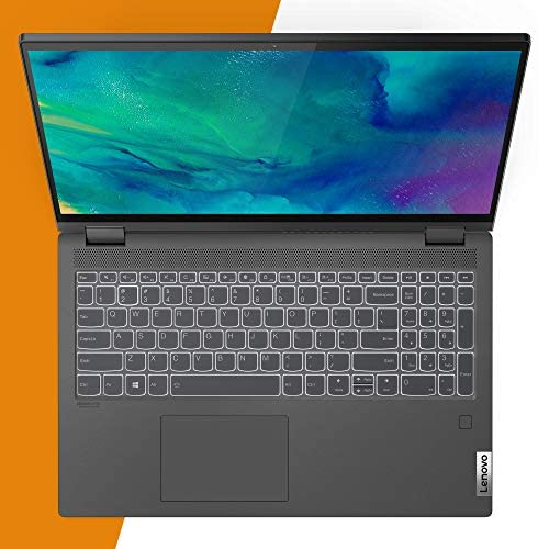 "Lenovo Flex 5 14"" 2-in-1 Laptop, 14.0"" FHD (1920 x 1080) Touch Display, AMD Ryzen 5 4500U Processor, 16GB DDR4, 256GB SSD, AMD Radeon Graphics, Digital Pen Included, Win 10, 81X20005US, Graphite Grey 7"