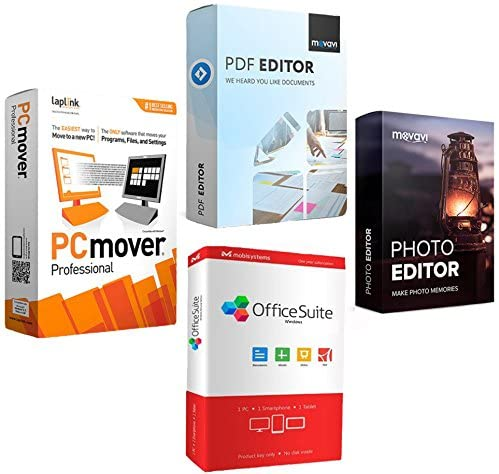 """Acer Predator Helios 300 15.6"""" Intel i7-10750H 16GB Gaming Laptop PH315-53-781R Bundle w/Elite Suite 18 Software (Office Suite Pro, Photo Editor, PDF Editor, PCmover Pro) + 1 Year Protection Plan 9"""