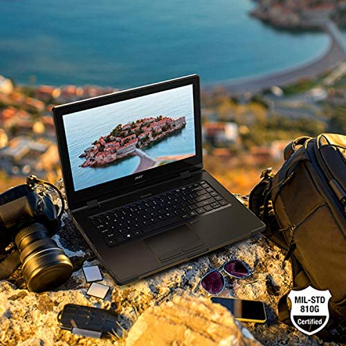 "Acer Enduro N3 EN314-51W-53RR Rugged Laptop, 14"" Full HD IPS, 10th Gen Intel Core i5-10210U, 8GB DDR4, 256GB NVMe SSD, Intel Wireless Wi-Fi 6, Fingerprint Reader, Windows 10 Professional 3"