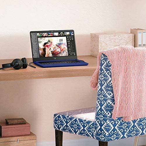 2020 HP 14 inch HD Laptop, Intel Celeron N4020 up to 2.8 GHz, 4GB DDR4, 64GB eMMC Storage, WiFi 5, WebCam, HDMI, Windows 10 S /Legendary Accessories (Google Classroom or Zoom Compatible) (Indigo Blue) 7