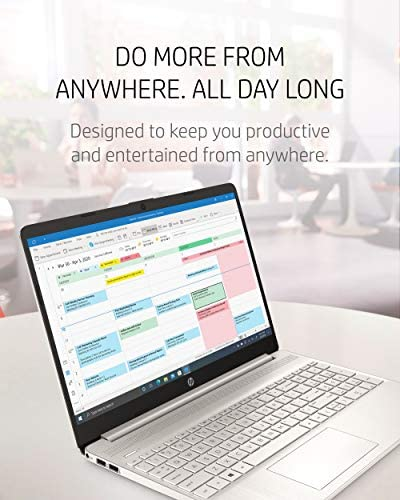 "HP 15 Laptop, 11th Gen Intel Core i5-1135G7 Processor, 8 GB RAM, 256 GB SSD Storage, 15.6"" Full HD IPS Display, Windows 10 Home, HP Fast Charge, Lightweight Design (15-dy2021nr, 2020) 7"