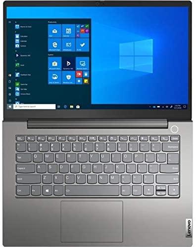 "Lenovo ThinkBook 14 G2 are 14"" Touchscreen Notebook, AMD Ryzen 7 4700U, 16GB RAM, 512GB SSD, AMD Radeon Graphics, Full HD 1920 x 1080, Windows 10 Pro, Mineral Gray (20VF0032US) 4"