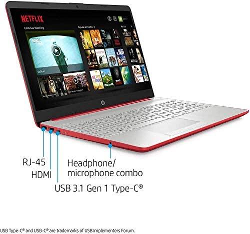 HP 2020 15.6 inches HD LED Display, Intel Pentium Gold 6405U, 4GB DDR4 RAM 500GB HDD, Windows 10 - Scarlet Red (Renewed) 7