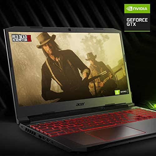 "Acer Nitro 5 Gaming Laptop, 10th Gen Intel Core i5-10300H,NVIDIA GeForce GTX 1650 Ti, 15.6"" Full HD IPS 144Hz Display, 8GB DDR4,256GB NVMe SSD,WiFi 6, DTS X Ultra,Backlit Keyboard,AN515-55-59KS 3"