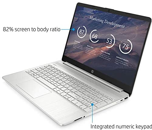 "2021 Newest HP Pavilion Laptop, 15.6"" HD Display, AMD Athlon Gold 3150U Processor Up to 3.3GHz, Webcam, HDMI, Compact Design, Long Battery Life, Win 10 + Oydisen Cloth (8GB RAM   256GB SSD) 3"