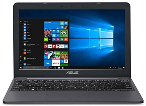 """ASUS L203MA-DS04 VivoBook L203MA Laptop, 11.6"""" HD Display, Intel Celeron Dual Core CPU, 4GB RAM, 64GB Storage, USB-C, Windows 10 Home In S Mode, Up To 10 Hours Battery Life, One Year Of Microsoft 365 1"""