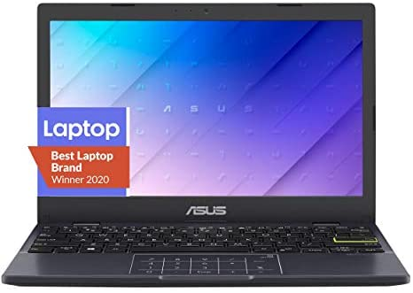 """ASUS Laptop L210 Ultra Thin Laptop, 11.6"""" HD Display, Intel Celeron N4020 Processor, 4GB RAM, 64GB Storage, NumberPad, Windows 10 Home in S Mode with One Year of Microsoft 365 Personal, L210MA-DB01 1"""